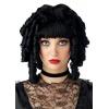Ghost Doll Wig Black Adult